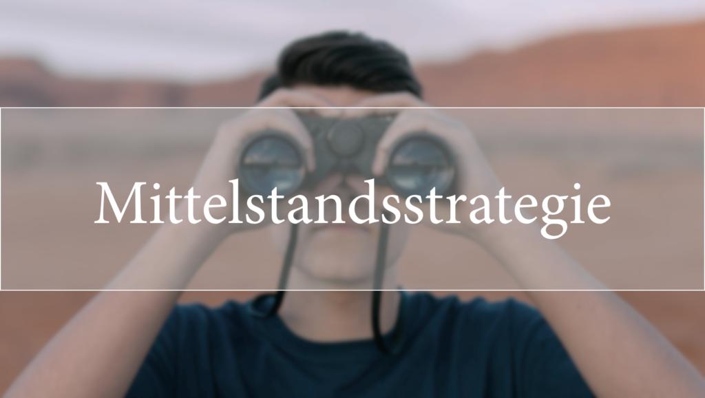 Mittelstandsstrategie